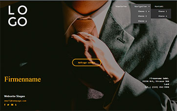 Business Homepage Design
