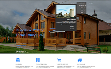 Immobilienmakler Website Template